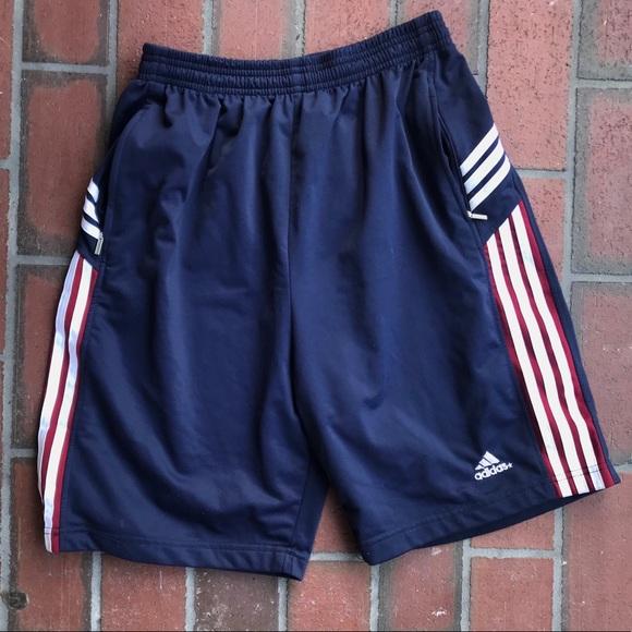 adidas shorts zipper